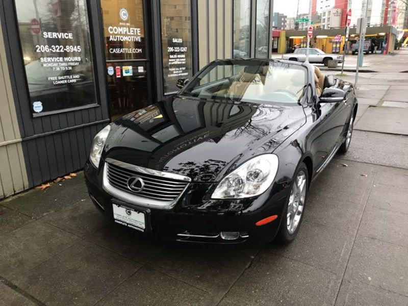 2008 Lexus SC 430 Convertible 32422 Original Miles Always Garaged Impossible to Duplicate Like New  city Washington  Complete Automotive  in Seattle, Washington