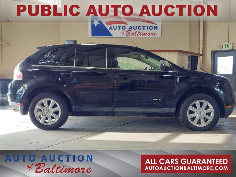 2008 Lincoln MKX  | JOPPA, MD | Auto Auction of Baltimore  in JOPPA MD