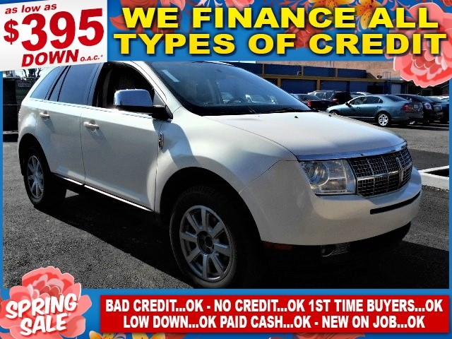 2008 Lincoln MKX Limited warranty included to assure your worry-free purchase AutoCheck report is