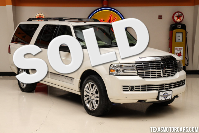 2008 Lincoln Navigator L This Carfax 1-Owner accident-free 2008 Lincoln Navigator is in great sha