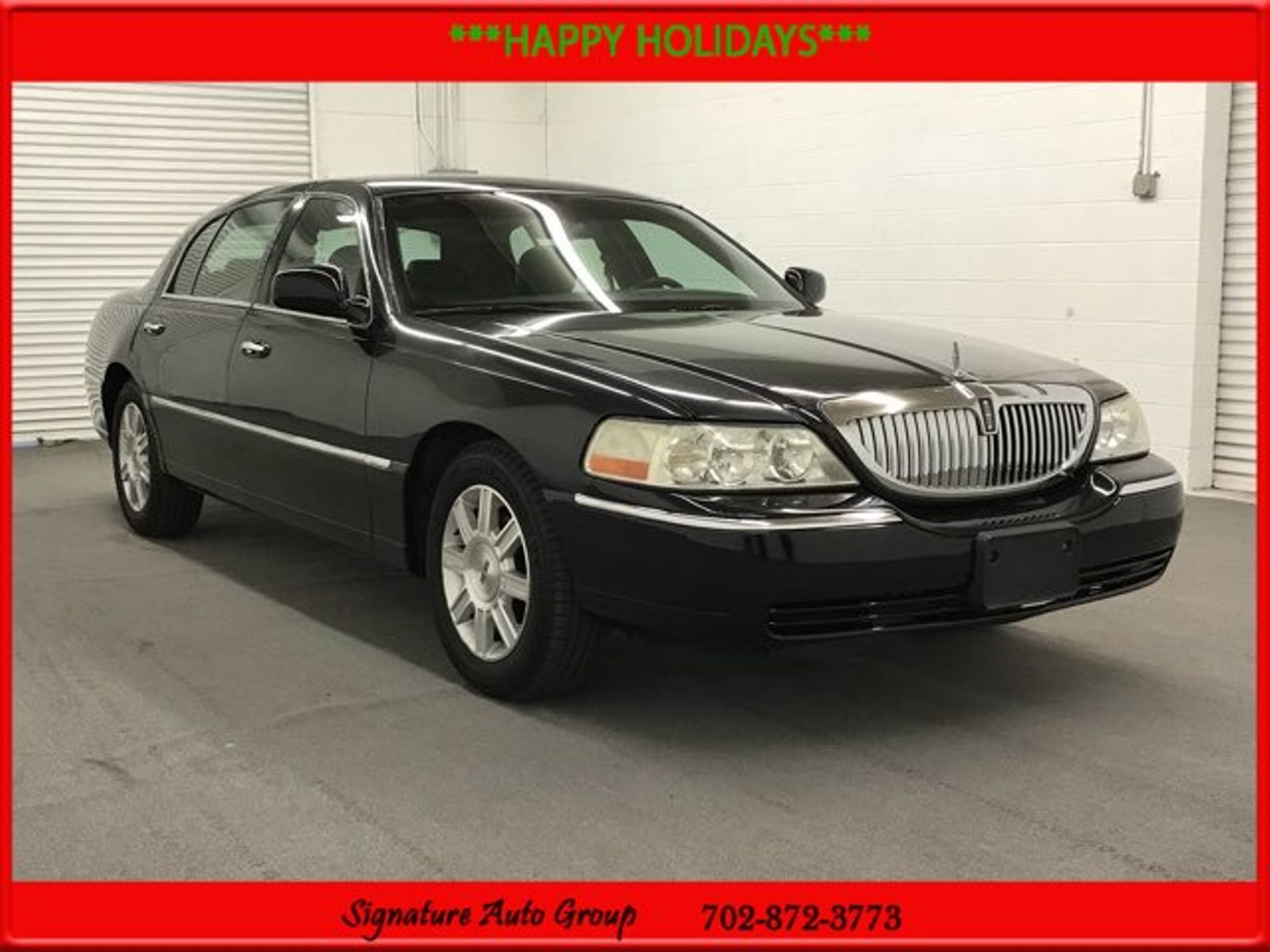 2008 black executive l used lincoln town car for sale. Black Bedroom Furniture Sets. Home Design Ideas
