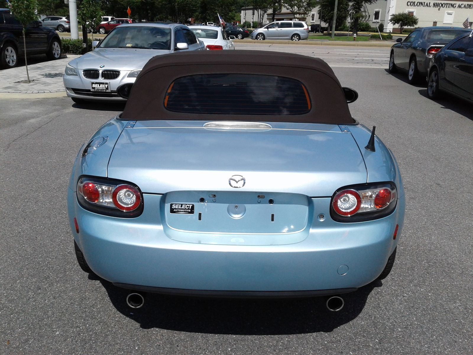 2008 mazda mx 5 miata special edition city virginia select automotive va. Black Bedroom Furniture Sets. Home Design Ideas