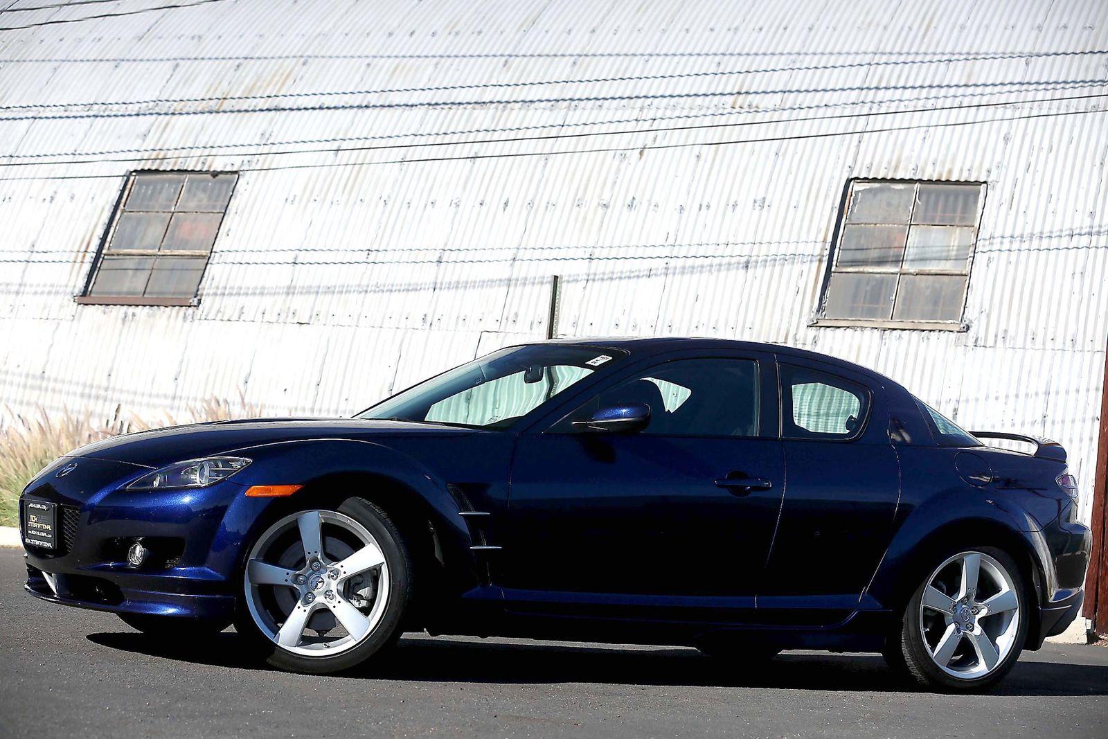 2008 mazda rx-8 sport - manual - appearance pkg - spoiler city