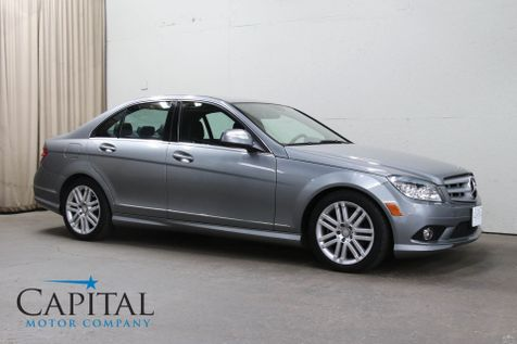 2008 Mercedes-Benz C300 Sport 4MATIC AWD w/Premium Pkg, Heated Seats, Moonroof and LOW Miles in Eau Claire