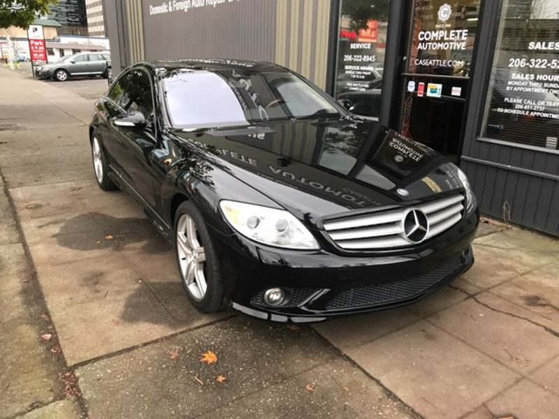 2008 Mercedes-Benz CL550 AMG 4 Passenger Coupe  Premium 2 Package Mint Save 93212 From New  city Washington  Complete Automotive  in Seattle, Washington