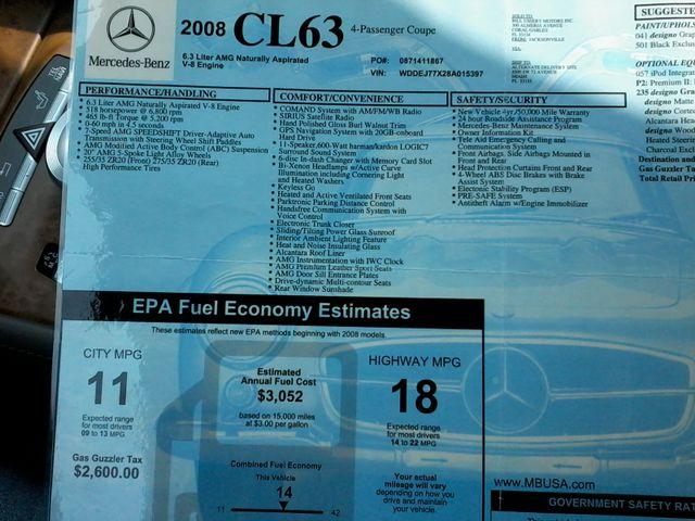 2008 Mercedes-Benz CL63 V8 AMG Renntech San Antonio, Texas 49