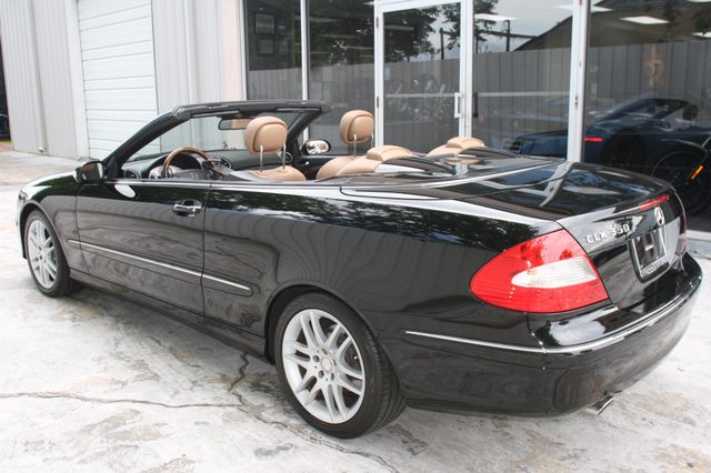 2008 Mercedes-Benz CLK350 CONVT 3.5L Houston, Texas 12