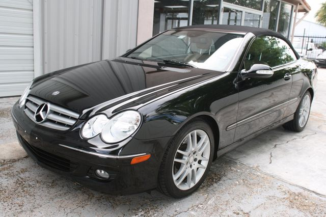 2008 Mercedes-Benz CLK350 CONVT 3.5L Houston, Texas 2
