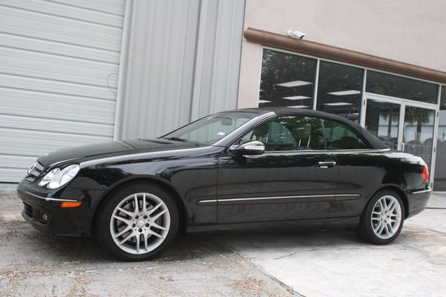 2008 Mercedes-Benz CLK350 CONVT 3.5L Houston, Texas 3