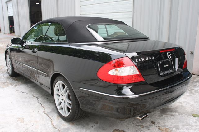 2008 Mercedes-Benz CLK350 CONVT 3.5L Houston, Texas 5