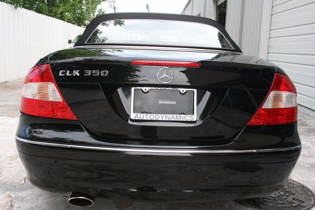 2008 Mercedes-Benz CLK350 CONVT 3.5L Houston, Texas 6