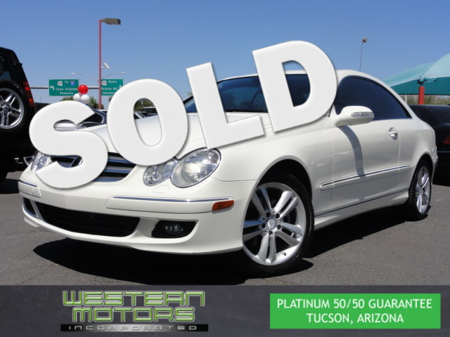 This 2008 Mercedes-Benz CLK350 3.5L is a Western Motors Featured Car