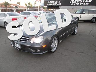 2008 Mercedes-Benz CLK550 Convertible Costa Mesa, California