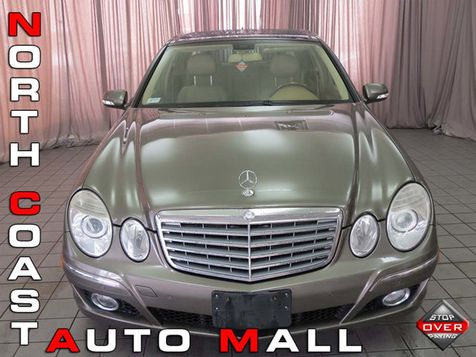 2008 Mercedes-Benz E-Class E350 4dr Sedan Sport 3.5L 4MATIC in Akron, OH