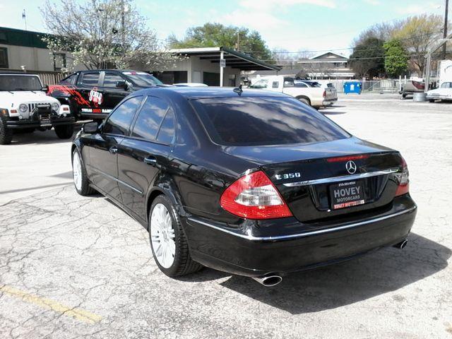 2008 Mercedes-Benz E350 Luxury 3.5L San Antonio, Texas 7