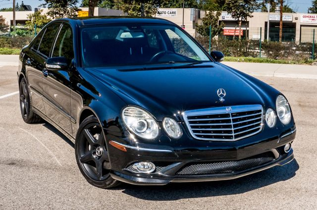 2008 Mercedes-Benz E550 Sport 5.5L Reseda, CA 45