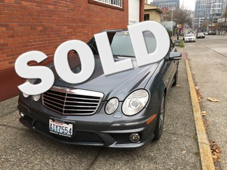 2008 Mercedes-Benz E63 AMG 6.3L 507HP 66,000 Miles Local History Premium Package2 FAST! 2 On Sale Seattle, Washington