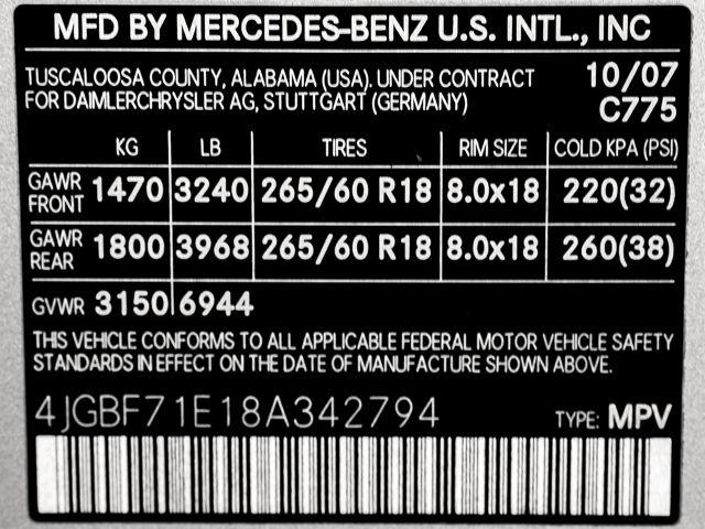 2008 Mercedes-Benz GL450 4.6L Burbank, CA 28