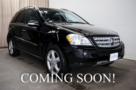 2008 Mercedes-Benz ML350 4Matic AWD Luxury SUV w/Heated Seats, Moonroof and 19