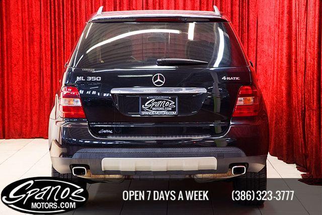 2008 Mercedes-Benz ML350 3.5L Daytona Beach, FL 4