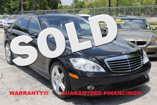 2008 Mercedes S550 55L V8  WARRANTY CARFAX CERTIFIED AUTOCHECK CERTIFIED  5 SERVICE RECORD