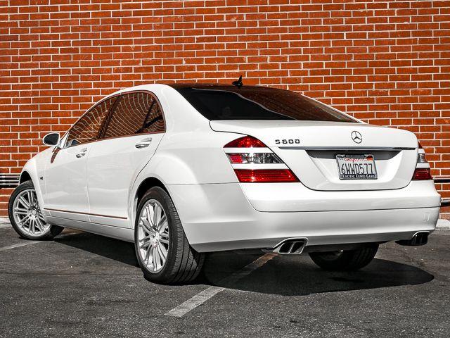 2008 Mercedes-Benz S600 5.5L V12 Burbank, CA 6