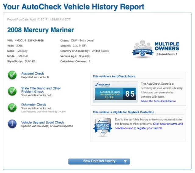 2008 Mercury Mariner I4 2WD San Antonio , Texas 9