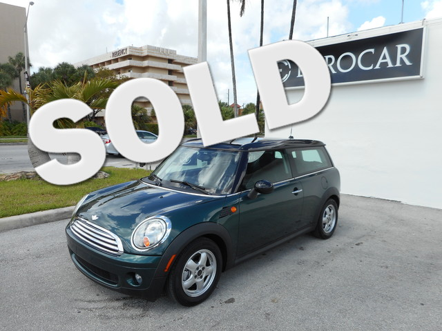 2008 MINI Clubman 2008 Mini Clubman With only 56 960 Miles Some Of The Feature That Come Along Wit