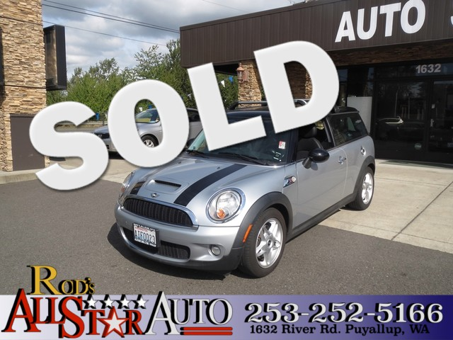 2008 MINI Clubman S This Clubman sports the classic Mini look but comes with plenty of room insid