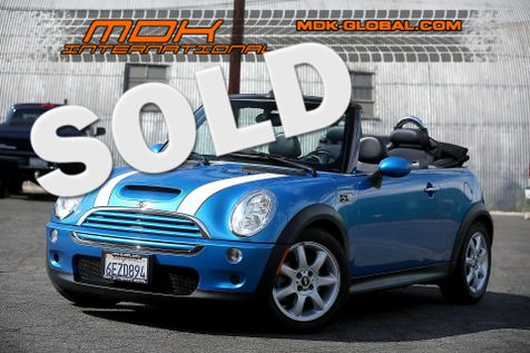 2008 Mini Convertible S - Manual - parking sensors in Los Angeles