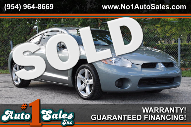 2008 Mitsubishi Eclipse GS  WARRANTY CARFAX CERTIFIED 6 SERVICE RECORDS FLORIDA VEHICLE TRA