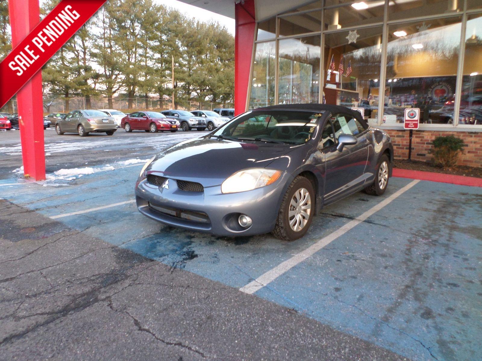 2008 Mitsubishi Eclipse GS City CT Apple Auto Wholesales In WATERBURY, ...