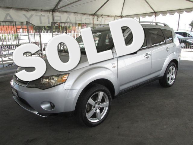 2008 Mitsubishi Outlander XLS This particular Vehicle comes with 3rd Row Seat Please call or e-ma