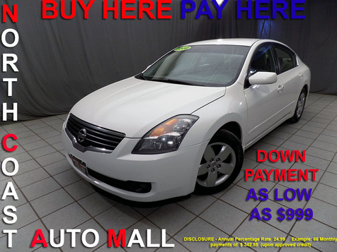 2008 Nissan Altima 2.5 S As low as $999 DOWN in Cleveland, Ohio