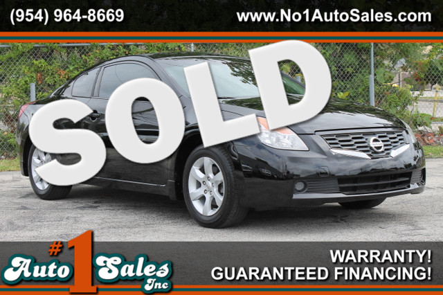 2008 Nissan Altima 25 S  WARRANTY 2 OWNERS 8 SERVICE RECORDS FLORIDA VEHICLE TRADES WELCOM