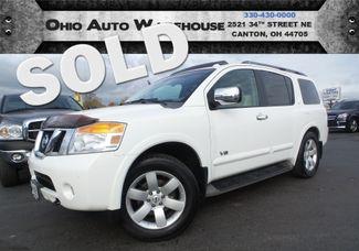 2008 Nissan Armada LE 4x4 Navi Sunroof Tv/DVD 1-Own We Finance | Canton, Ohio | Ohio Auto Warehouse LLC in  Ohio