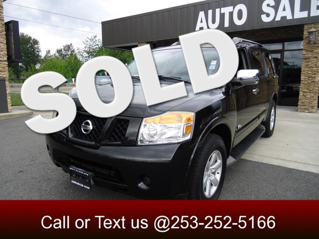 2008 Nissan Armada SE This huge Armada can fit 8 with ease You dont have to settle for that mini