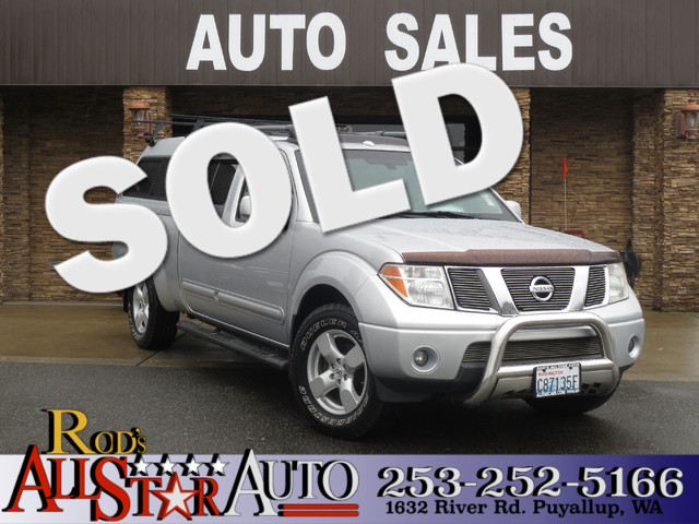 2008 Nissan Frontier LE 4WD Known as the Nissan Navara in Asian countries the Frontiers are truly