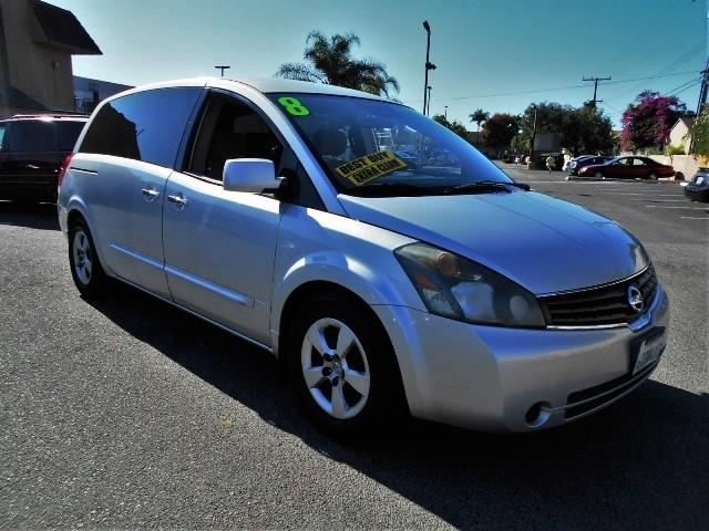 2008 Nissan Quest S Limited warranty included to assure your worry-free purchase AutoCheck report