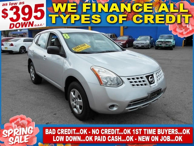 2008 Nissan Rogue S Limited warranty included to assure your worry-free purchase AutoCheck report
