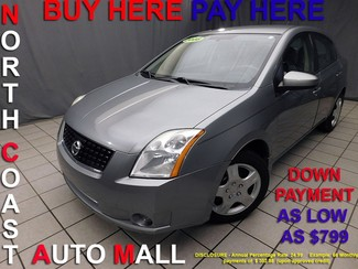 2008 Nissan Sentra 2.0 S As low as $799 DOWN in Cleveland, Ohio