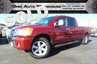 2008 Nissan Titan LE 4x4 Crew Cab V8 Leather Long Bed We Finance | Canton, Ohio | Ohio Auto Warehouse LLC in  Ohio