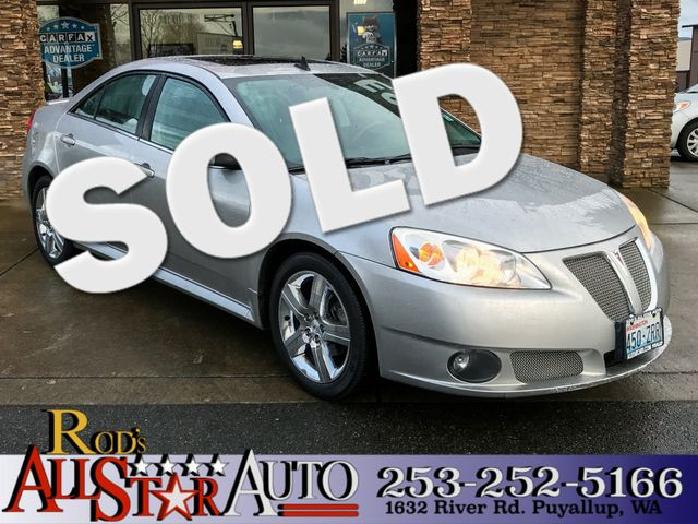 2008 Pontiac G6 GXP The CARFAX Buy Back Guarantee that comes with this vehicle means that you can