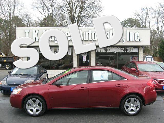 2008 Pontiac G6 SE Richmond, Virginia 0