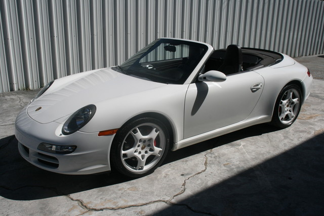2008 Porsche 911 Cab Carrera S Houston, Texas 29