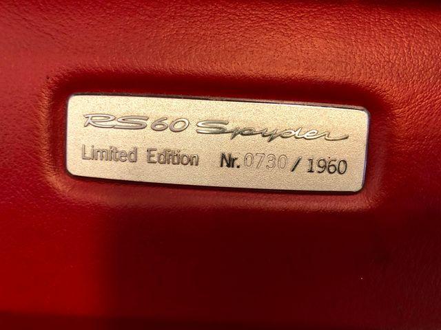 2008 Porsche Boxster RS 60 Spyder Longwood, FL 25
