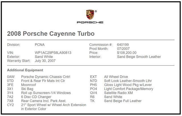 2008 Porsche Cayenne Turbo AWD - NAV - SUNROOF - NEW TIRES! Mooresville , NC 7