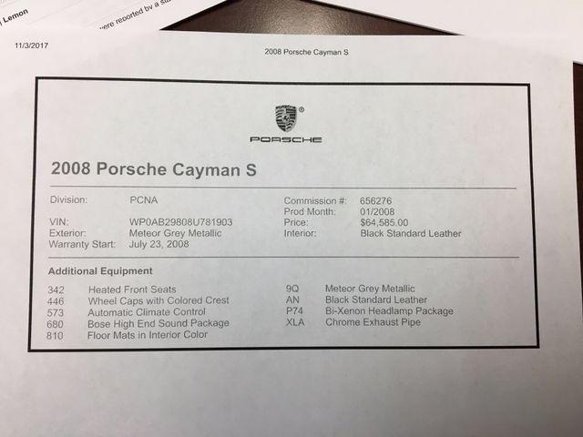 2008 Porsche Cayman S Longwood, FL 40