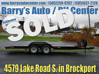 2008 Quality 7 x 18 ft Car Trailer Brockport, NY