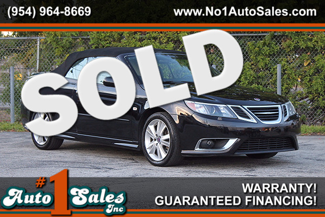 2008 Saab 9-3 Aero  WARRANTY CARFAX CERTIFIED AUTOCHECK CERTIFIED 2 OWNERS FLORIDA VEHICLE